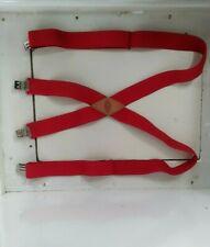 Dickies Heavy Duty Clip Suspenders Red