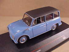 iST Models #IST 172  1/43 Diecast 1957 AWZ P70 Kombi, Medium Blue w/Black Roof