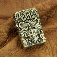 Arena of Valor Hand-carved Brass Lighter Shell 6V019B (Just Shell)