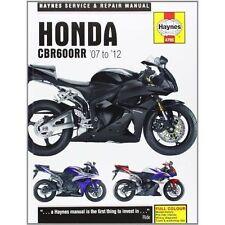 Haynes 4795 Honda CBR600RR Service and Repair Manual: 2007-2012