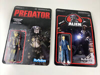 Predator Unmasked & Alien - Ripley ReAction Figure Free shipping Funko LOT of 2