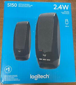 Logitech S150 2.0 Channel Portable Speaker - Black