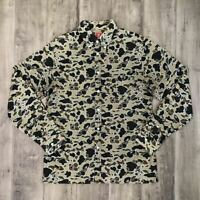 A BATHING APE BAPE Sta Camo Long Sleeve Shirt Size L Vintage Rare Made in Japan
