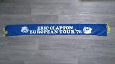 Eric Clapton European Tour 78 1978 Music Vintage music scarf sjaal