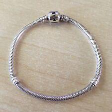 Pandora Moments Armband 19 cm Schlangen-Gliederarmband Silber