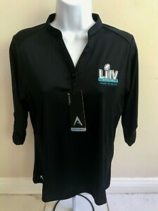 Super Bowl LIV Miami Women's NFL Jacket Accolade Desert Dry Antigua Size L
