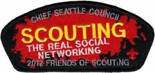 Chief Seattle Council - 2012 Friends of Scouting FOS CSP