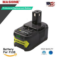 NEW For P108 Ryobi One Plus 18 Volt 18V Lithium-Ion High Capacity Battery 4.0AH
