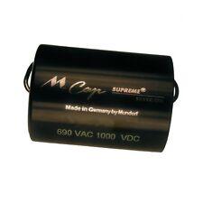 MUNDORF MCAP SUPREME SILVER OIL 0,22uf Condensatore Capacitor OLIO ARGENTO 852608
