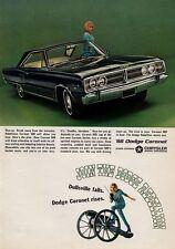 1966 Dodge Coronet  500 2-Door PRINT AD