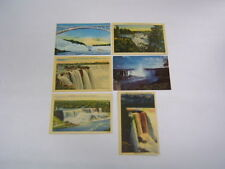 6 Postcards Niagara Falls Canada/New York Unused