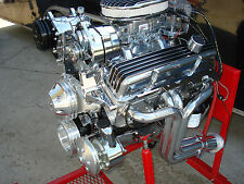 CHEVY 350 HI PERFORMANCE ROLLER ENGINE TURN KEY 350+HP LOADED CR# EHRB 49