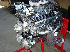 CHEVY 350 HI PERFORMANCE ROLLER ENGINE TURN KEY 350+HP LOADED CR# EHRB 49