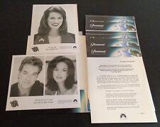 1997 Miss America Pageant Press Release Kit Photo + John Callahan Eva LaRue