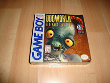 ODDWORLD ADVENTURES FOR NINTENDO GAME BOY NEW FACTORY SEALED H.LINE IN BACK BOX