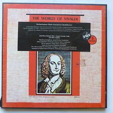 coffret The world of Vivaldi JEAN PIERRE RAMPAL GASPAR CASSADO JONEL PERLEA