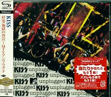 KISS MTV UNPLUGGED CD+1 JAPAN 2016 RMST SHM HIGH FIDELITY FORMAT - NEW - OOP!