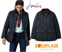 Joules Womens Newdale Quilted Fitted Jacket  - AW19