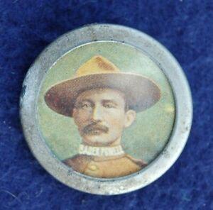 1900 - Baden Powell - Metal Pin Badge - Boy Scout - Boer War - Mafeking