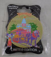 WDI Disney D23 Retro Disneyland Park Main Street Pin LE 300 Horse Drawn Trolley