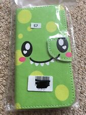 S7 green wallet case phone case brand new