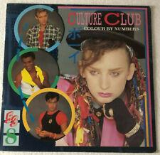 CULTURE CLUB - COLOUR BY NUMBERS LP - ORIGINAL VINYL 1983