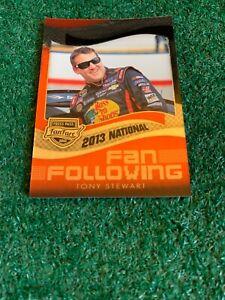 TONY STEWART - 2013 PRESS PASS - NATIONAL - PROMO - VIP - CARD # FFN4 - NASCAR