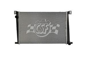 Radiator-1 Row Plastic Tank Aluminum Core CSF 3429