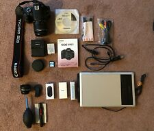 Canon EOS 600D Digital camera EF-S 18-55 IS II - Free Drawing Tablet and More!