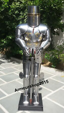 Armor Crusader Medieval Suit of Armor Full Body Armour Suit Halloween Costume