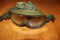 Original Russian Army Military Special Forces Ballistic Eyewear 6B50 RATNIK gree