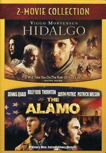 Hidalgo (2004) & Alamo (2004) (DVD) NEW