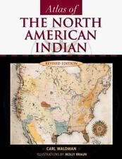 Atlas of the North American Indian by Carl Waldman (2000, Paperback, Revised)