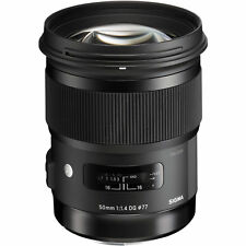 Sigma Art 50mm F/1.4 HSM DG Lens For For Canon