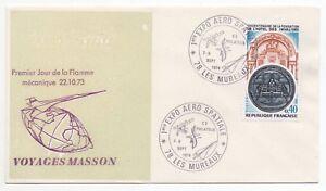 1974 FRANCE Event Cover AEROSPACE EXPO AERO SPATIALE Les Mureaux SG2054