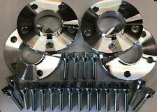 4 x 20 mm BIMECC Nero Lega Ruota Distanziatori SERRATURE bulloni Mini 66.6 M14X1.25