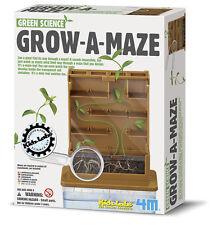GROW-A-MAZE - KIDS EDUCATIONAL PLANTING GREEN SCIENCE KIT KIDZ LABS 4M TOYSMITH