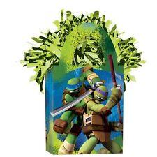 Tortugas Ninja Mutantes Adolescentes Tote Peso Del Globo Verde Helio Metalizado