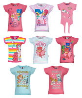 Girls Kids Official Various Character Short Sleeve T Tee Shirt Top 2 - 10 Years