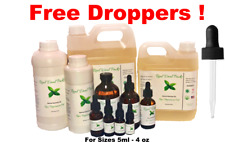 Pure Uncut Natural Therapeutic Peppermint Skin Essential Plant Oil Relief/Focus