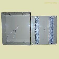 VKK 3 AP Verteiler Kasten mit 2 LSA Plus1 Leiste Kabelverteiler für 40DA Adapter