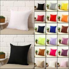 Chemical Fiber Square Home Decorative Throw Pillow Case Sofa Waist Cushion Cover