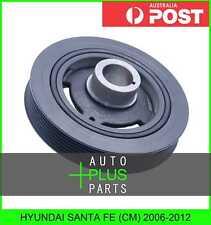 Fits HYUNDAI SANTA FE (CM) - Crankshaft Pulley Engine Belt Harmonic Balancer