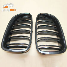 BMW 5-Series F10 F11 Painted Glossy Black Front Grille Kidney 2010+ M5 528i