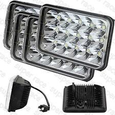 "4""x6"" 15 LED Cree Light Bulb Clear Sealed Beam HeadLamp Headlight IP68 For Volvo"
