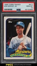 1989 Topps Traded Ken Griffey Jr. ROOKIE RC #41T PSA 10 GEM MINT