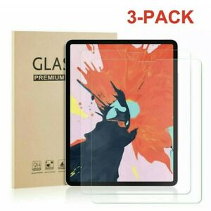 3-Pack HD Tempered Glass Screen Protector For iPad Air 4 (2020) 10.9''/4th Gen