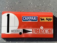 Curved Alfa Romeo Tipo 33 Campari Race Car Vintage Style Door Sign Mille Miglia