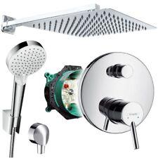 Unterputz Duschsystem mit Kopfbrause 300x300, Crometta, iBox, Hansgrohe Talis S