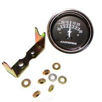 """Universal 30 AMP Ammeter Gauge for Various Tractors & Equipment (Fits 2"""" Hole)"""